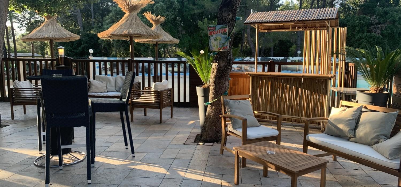 La piscine du restaurant l'Hacienda